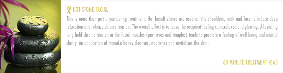 About Amazonas Hot Stone Facial Treatment