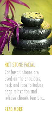 Amazonas Aromatherapy Hot Stone Facial Treatment