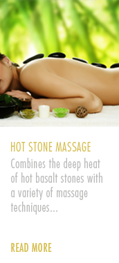 Amazonas Aromatherapy Hot Stone Massage Treatment