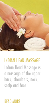 Amazonas Aromatherapy Indian Head Massage Treatment